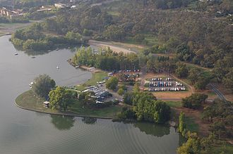 Canberra Yacht Club - Club house on Lake Burley Griffin