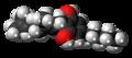 Cannabigerol molecule spacefill.png