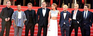 The Last Face - Director, producer, and stars at the Cannes Film Festival.