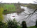 Canoes on the Wye, at The Weir - geograph.org.uk - 735467.jpg