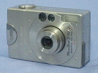 Canon Digital IXUS - Image: Canon Power Shot S110 Digital Elph front