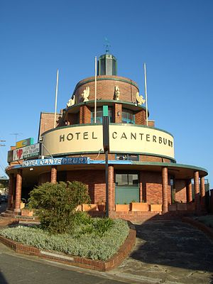 Canterbury, New South Wales - Canterbury Hotel, Canterbury Road