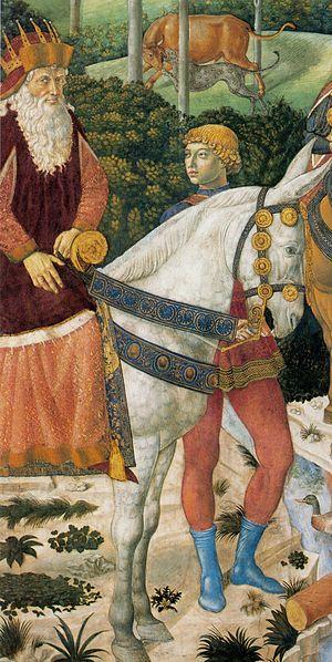 Joseph II of Constantinople - Joseph II of Constantinople, fresco by Benozzo Gozzoli, Cappella dei Magi, Florence