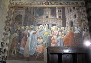 Andrea di Giusto - Cappella Dell'Assunta Fresco, 1435-35