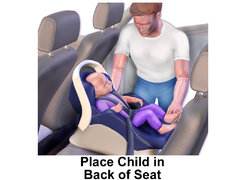 Car Seat - Middle Back Seat