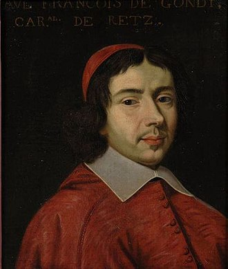 Jean François Paul de Gondi - Jean-François Paul de Gondi as a young cardinal of the church.