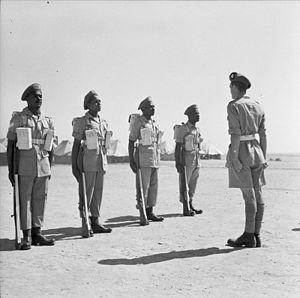 Caribbean Regiment - Caribbean Regiment soldiers in Egypt