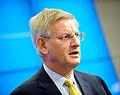 Carl Bildt, Sveriges utrikesminister, vid Nordiska radets session i Stockholm 2009 (1).jpg
