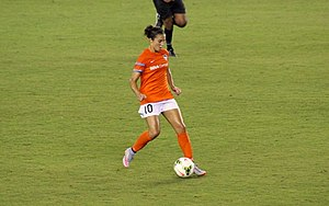 Carli Lloyd - Lloyd playing for the Houston Dash, September 2015