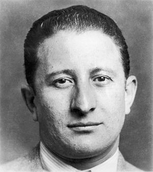English: Mugshot of Carlo Gambino (August 24, ...
