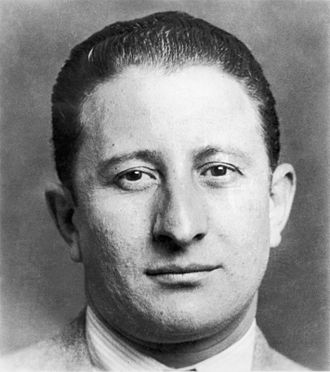 American Mafia - Carlo Gambino, head of the Gambino crime family.