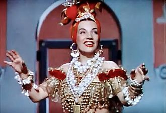 Down Argentine Way - Image: Carmen Miranda in Down Argentine Way, 1940