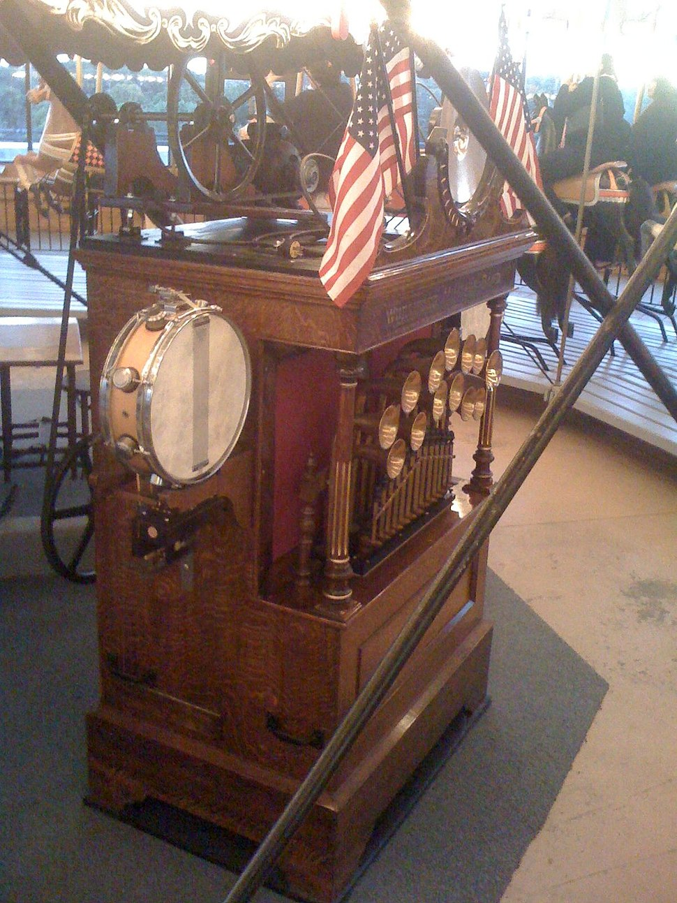 Carousel Band Organ Wurlitzer (Cultural Education Center, NY)