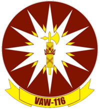 Carrier Airborne Early Warning Squadron 116 (US Navy) patch.png