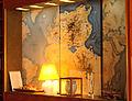 Carte de Tunisie au mur, Musée Bourguiba, Monastir 2013.jpg