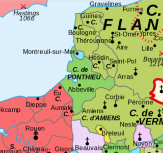 Ponthieu Feudal county in what is now France