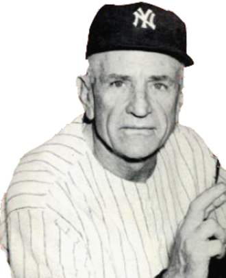 "Casey Stengel - ""The Old Perfessor"" in 1953"