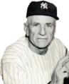 Casey Stengel managed the Yankees to seven World Series championships.