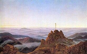 Morning on the Riesengebirge - Image: Caspar David Friedrich, Morgen im Riesengebirge