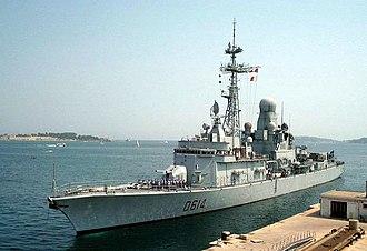 Cassard-class frigate - Image: Cassard 6