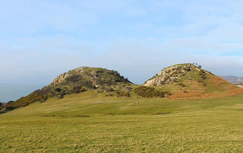 File:Castell Degannwy Deganwy Castle Sir Ddinbych Wales 09.JPG