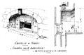 Castello di Verrès, comando della saracinesca, da schizzi d'andrade, fig 119 disegno nigra.tiff