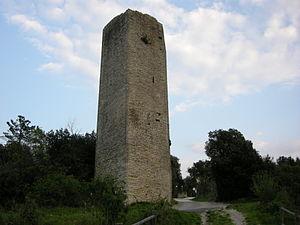 Monsummano Terme - Tower of the di Monsummano Alto castle.
