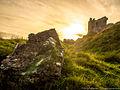 Castle of Dunamase im Abendlicht 01.jpg