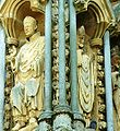 Catedral de Wells - Detall portalada.JPG