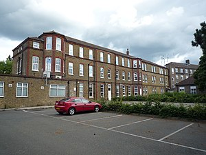 Caterham - All that remains of Saint Lawrence's Hospital