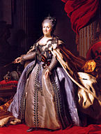 Catherine II by F.Rokotov after Roslin (1780s, Hermitage) 2.jpg