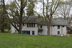 Catlettsburg, Kentucky - The Catlett House was built in 1812.