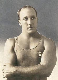 Cecil Healy, Olympic swimming gold, silver and bronze medallist.jpg