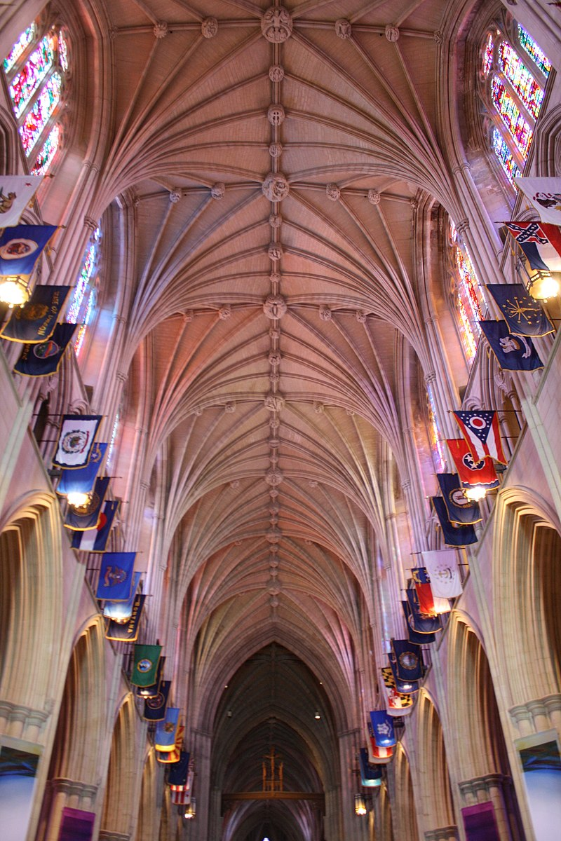 Ceiling of Washington National Cathedral.JPG