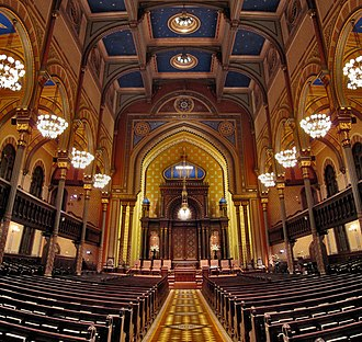 Henry Fernbach - Interior of Central Synagogue