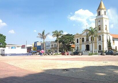 Como chegar até Cotia com o transporte público - Sobre o local
