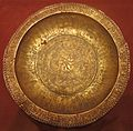 Ceremonial dish (piring mas), Southeast Moluccas, Luang Island, 15th century, gold, silver and copper alloy, HAA.JPG