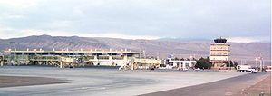 Cerro moreno airport scfa 1280 low