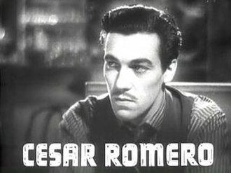 Cesar Romero - Romero in Public Enemy's Wife (1936)
