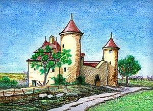 Étrembières - The Château d'Etrembières