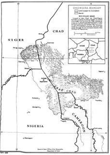 Chad–Nigeria border