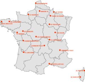 2007–08 Ligue 2 - Image: Championnat ligue 2 2007 2008