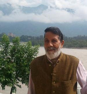 Chandi Prasad Bhatt - Image: Chandi prasad bhatt 1