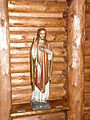 Chapel of the Sacred Heart (Grand Teton National Park, WY) - statue Christ showing His Sacred Heart.jpg