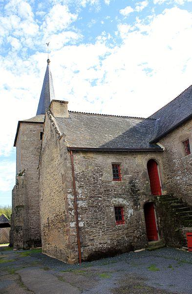 Chapelle Saint-Gobrien de Saint-Servant: maison de chapelain