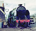 Chappel Stour Valley Railway preservation Society Southern Railway Steam loco Green King 841 1975.jpg