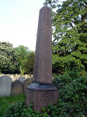 Charles Frederick Field - Funerary monument, Brompton Cemetery, London