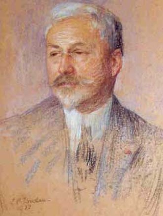 Charles Édouard Guillaume - 1922 pastel portraiture by Marie-Louise Catherine Breslau