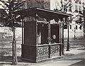 Charles Marville, Trink halles Cie Fonrobert Débit des boissons gazeuses, ca. 1865.jpg