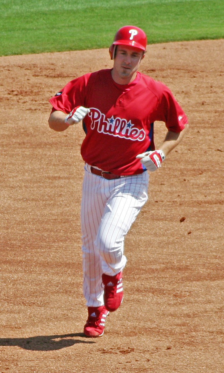 Chase Utley on March 11, 2007